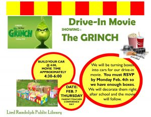 Drive-In Movie @ Lied Randolph Public Library