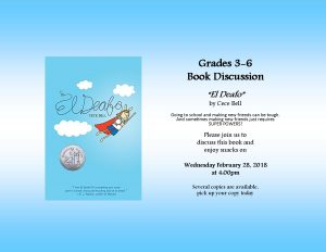 """El Deafo"" Book Discussion for grades 3-6 @ Lied Randolph Public Library"