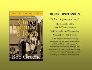 """""""Once Upon a Town"""" Book Discussion @ Lied Randolph Public Library"""