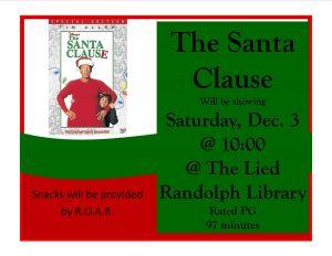 Movie Day @ Lied Randolph Public Library