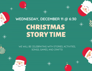 Christmas Story Time @ Lied Randolph Public Library
