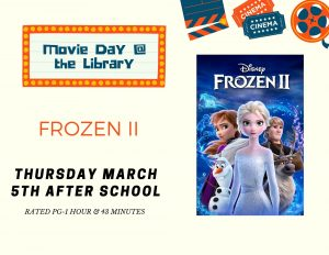 Movie Day- Frozen II @ Lied Randolph Public Library