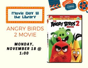 Movie Day @ Lied Randolph Public Library