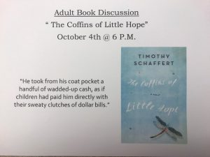 Adult Book Discussion @ Lied Randolph Public Library | Randolph | Nebraska | United States