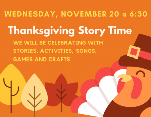 Thanksgiving Evening Story Time @ Lied Randolph Public Library