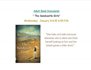 The Sandcastle Girls Adult Book Discussion @ Lied Randolph Public Library