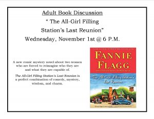 Adult Book Discussion @ Lied Randolph Public Library