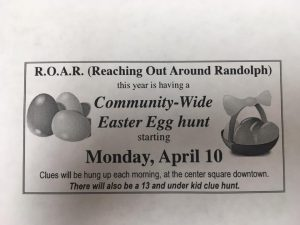 R.O.A.R. Community Easter Egg Hunt @ City of Randolph